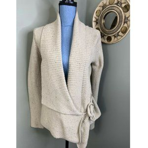 French Connection Wrap Sweater Cardigan